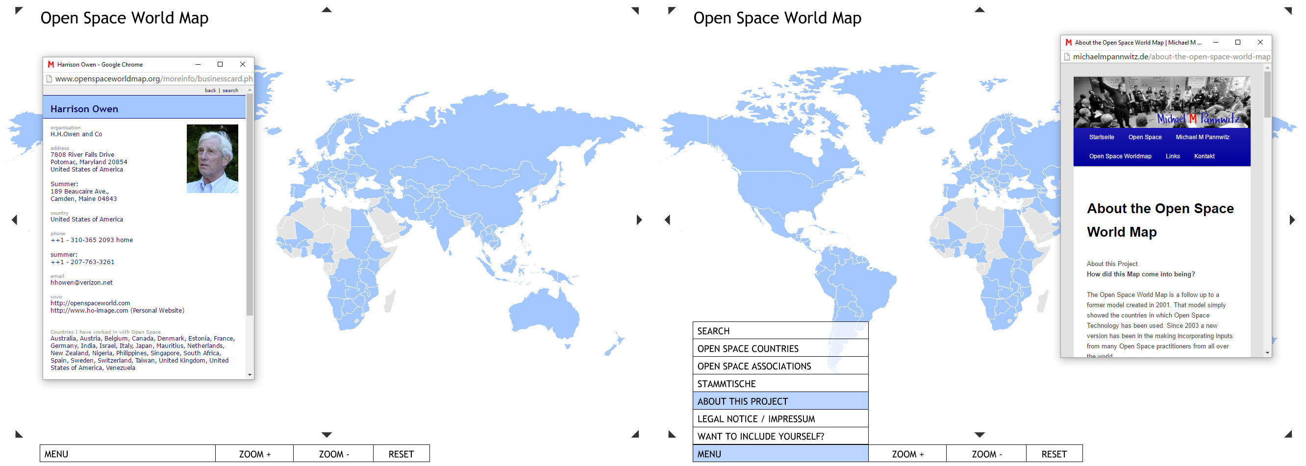 About the world map in 2015 the map comprised more than 400 open space workers in over 140 countries in addition to their contact details links to more than 200 web sites gumiabroncs